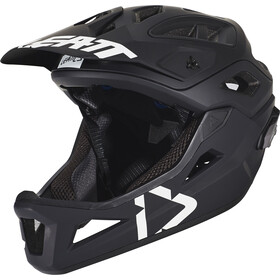 Leatt DBX 3.0 Enduro Fietshelm, black/white